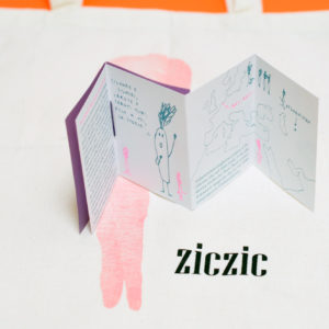 ziczic / shopper carota + microverità